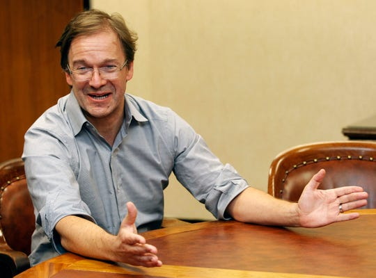 Milwaukee County Executive Chris Abele talks Wednesday about why he isn't seeking re-election.