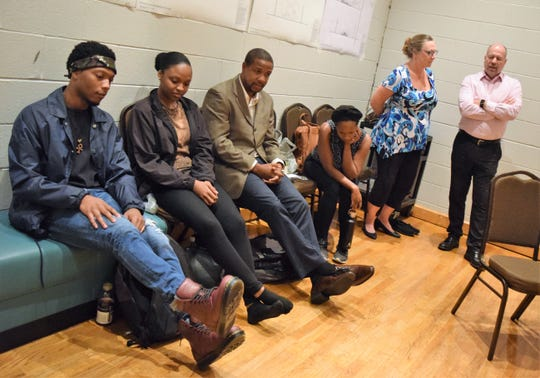 Pipeline Cast Members Jay Wade Toree Alexandre Ethan Henry Eunice Woods Barbara Figgins And Asf Exec Director Todd Schmidt.