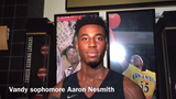 Vanderbilt sophomore guard Aaron Nesmith is a projected 2020 NBA Draft pick. But he's focused on this season under new coach Jerry Stackhouse.