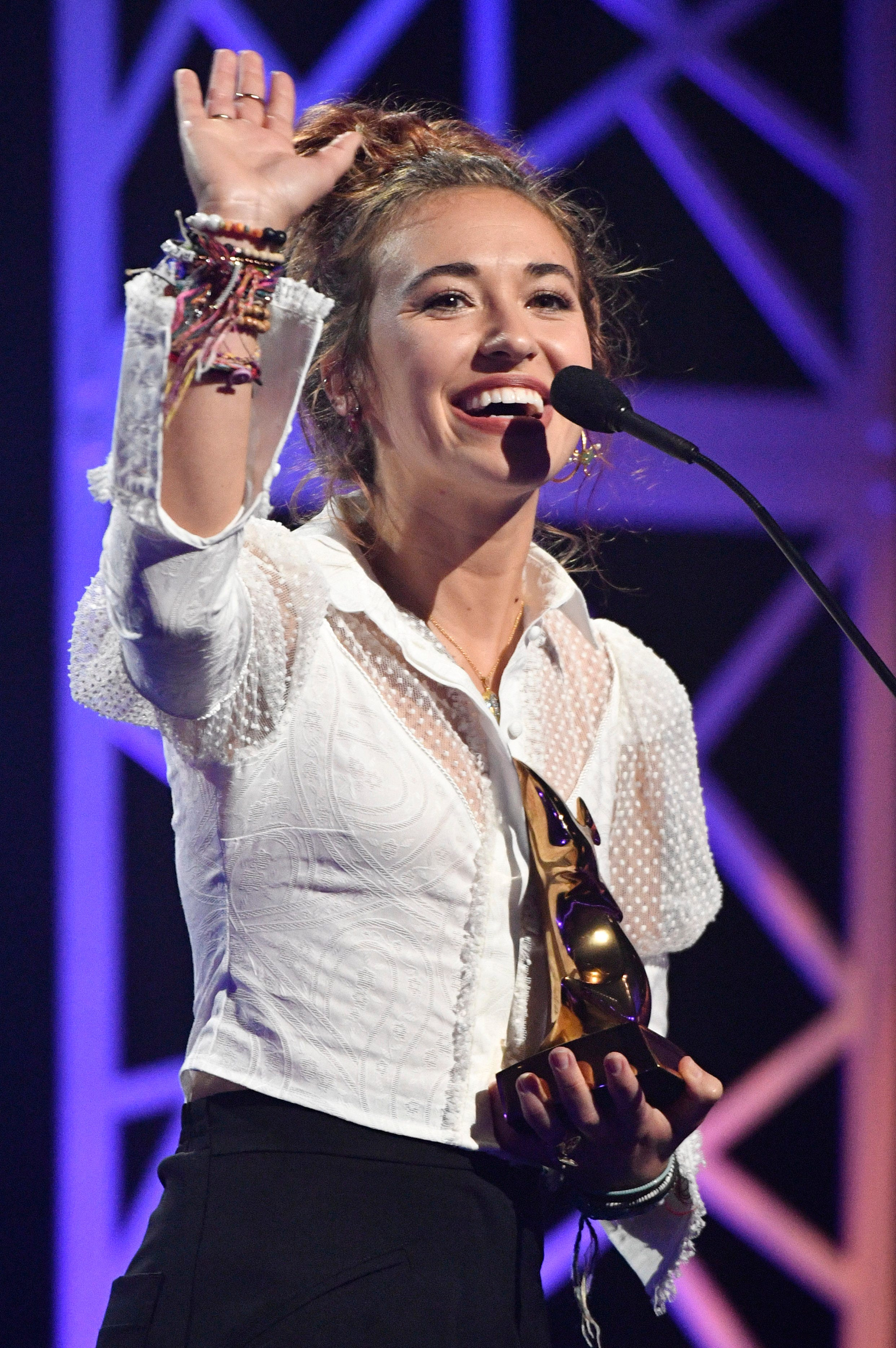 Dove Awards: Lauren Daigle earns top honors at 50th annual Christian music show