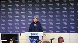 Ryan Tannehill talks about being named starting QB for the Titans game against the Chargers Sunday.