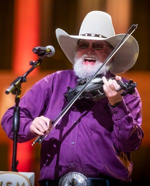 Charlie Daniels performs at the Grand Ole Opry House Tuesday, October 15, 2019.