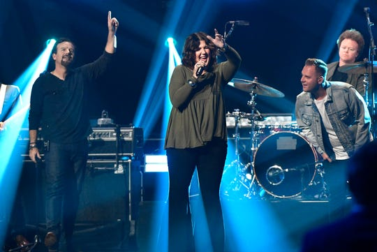 Casting Crowns will be among the big-name Christian acts playing FedExForum on Friday.