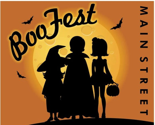 The Downtown Dickson Boo Fest poster