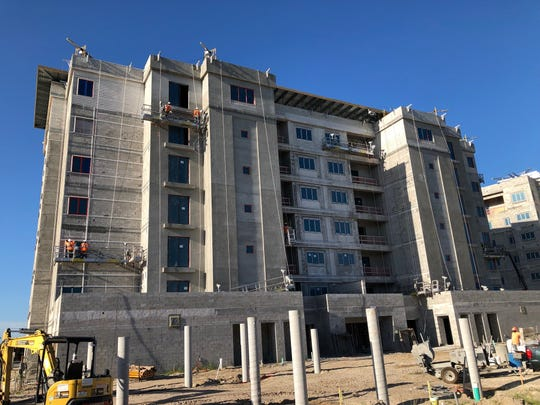 Construction continues as future residents of Moorings Park Grand Lake anxiously await spring 2020 occupancy.