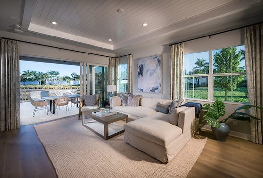 Construction has begun at Abaco Pointe, Toll Brothers' newest community in Naples featuring single-family attached villas.