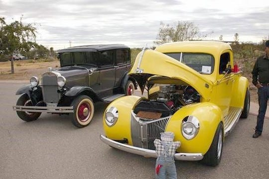 Classic entries from the 2018 Pancho's Car Show at Pancho Villa State Park in Columbus, NM.
