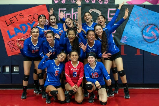 The 2019 Indio High School volleyball team won its first league title in 36 years on Tuesday night.