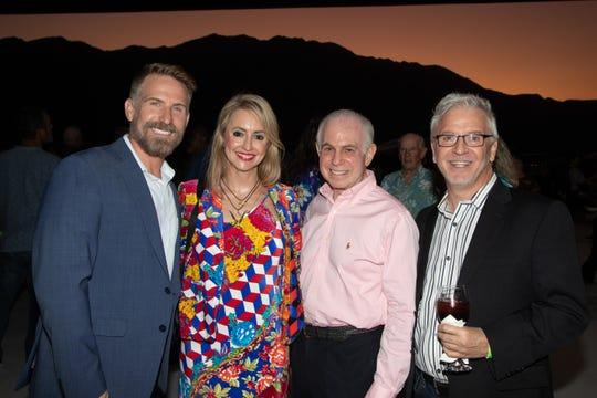 Jonathan Wynn, Lindsay Berger-Saks, Mitch Blumberg and Chuck Yates were all smiles.
