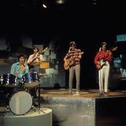 The Kinks (l-r): Mick Avory, John Dalton, Ray Davies, Dave Davies