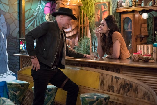 "Woody Harrelson and Rosario Dawson star in  ""Zombieland: Double Tap."""