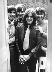 The Kinks in 1969 (l-r): Mick Avory, Ray Davies, Dave Davies, John Dalton
