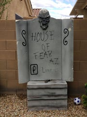 The couple's House of Fear AZ Facebook page has more than 1,100 followers.