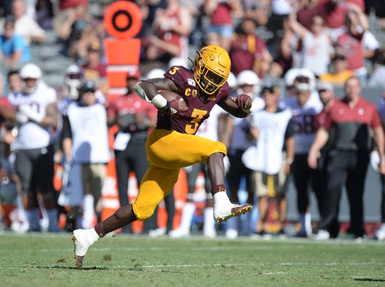 Eno Benjamin and the ASU football team are big underdogs at Utah for Saturday's Pac-12 South college football showdown.
