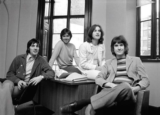 The Kinks in 1969 (l-r): Mick Avory, John Dalton, Dave Davies, Ray Davies