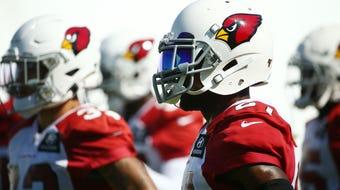 Cardinals cornerback Patrick Peterson addresses his trade rumors and his suspension.