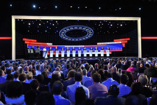 Debate demócrata 2020.