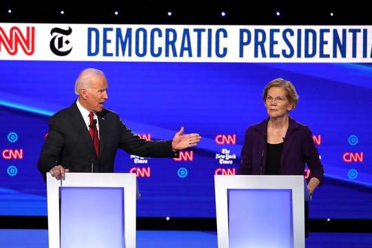 La senadora de Massachussets Elizabeth Warren fue blanco de críticas.