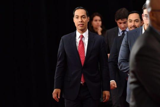 Julián Castro, pre-candidato demócrata a la presidencia de EEUU 2020.