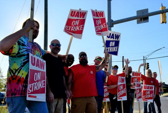 About 3,500 employees in Pennsylvania, Maryland and Florida have been on strike since Saturday after their contract ran out on Oct. 1. The plant near Hagerstown, Maryland employs close to 2,000 workers.