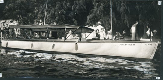 The Josephine II was the speediest and largest of the passenger boats that once shuttled passengers around Irondequoit Bay. Stops were made at regular intervals at Glen Edith.