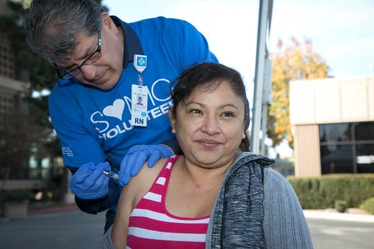 Flu shots are being provided for free by Salinas Valley Memorial Health System.