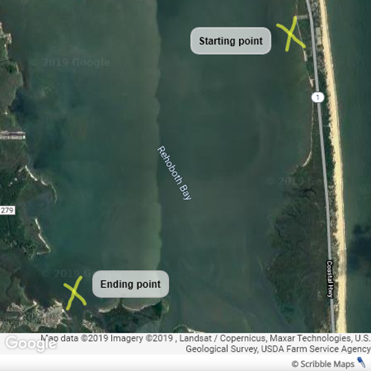 Retired doctor Victor Gong was windsurfing off Tower Road near Dewey Beach when winds pulled him too far from shore. He spent six hours floating down the Rehoboth Bay overnight, landing several miles south near Berry Road in Millsboro.