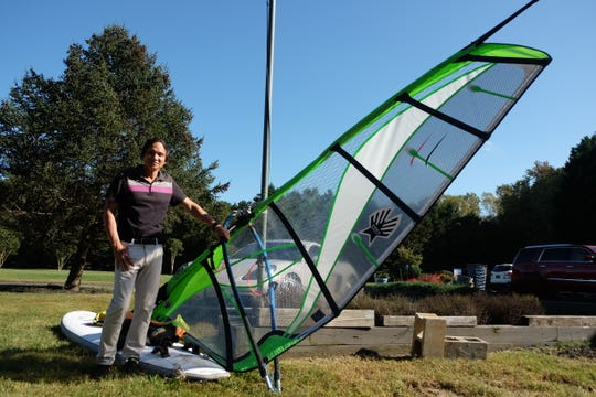 Victor Gong was windsurfing the evening of Oct. 10 when he got pulled out to the Rehoboth Bay. He spent six hours trying to survive. Now he's sharing his story as a tale of caution, safety and inspiration.