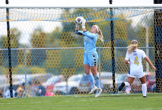 SDSU's Maggie Smither has a Summit League record 29 career shutouts