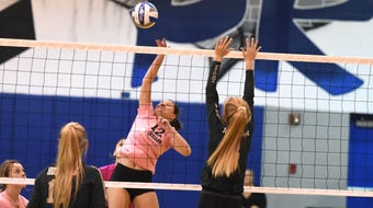Maggie Trainum and Fort Defiance swept Wilson Memorial Tuesday in Shenandoah District volleyball action.