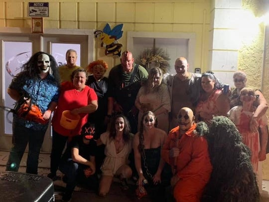 The Haunted Woods Walk is 8-11 p.m. Fridays and 8 p.m. to midnight Saturdays in October at The Hive Honey House and Market, 7650 Old Dixie Highway, north of Vero Beach. The cost is $7 per person. It features creepy characters, such as chainsaw-wielding clowns and Michael Myers from Halloween.