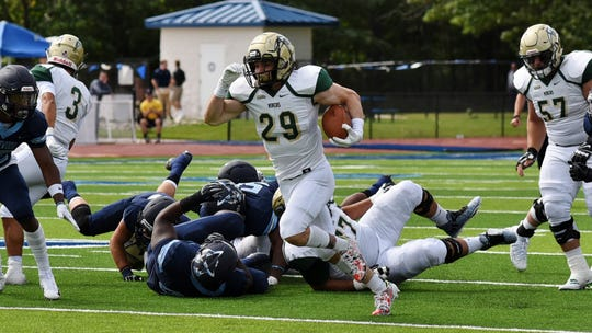 Former Canutillo football player Aaron Moya has been a key player at RB for Missouri S&T.