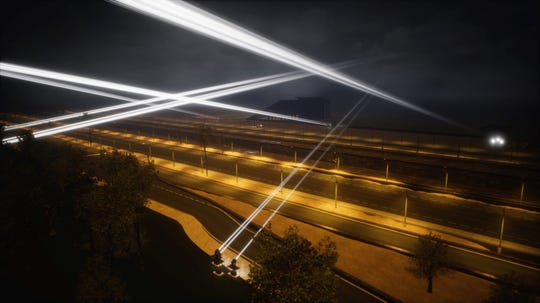 Eighteen powerful searchlights spanning the El Paso-Juarez border will form voice bridges in the Border Tuner interactive art installation set to be active Nov. 14-24.