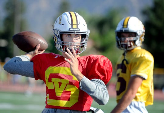 Sophomore Travis Throckmorton, a transfer from Westlake High, has been the starting quarterback for Simi Valley since Week 3 and has helped the Pioneers win five straight games. The Pioneers play at Oak Park in a Canyon League opener Friday night.