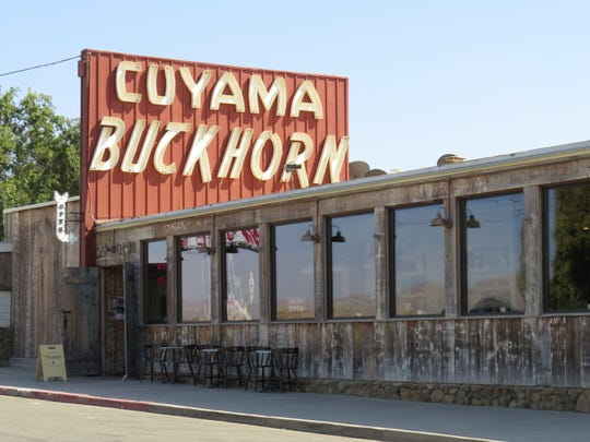 Built in 1952, the Cuyama Buckhorn in the Santa Barbara County community of New Cuyama is coming back to life under new ownership. It includes a bar, a coffee shop and a restaurant. Newly remodeled rooms are currently available for overnight stays on Fridays and Saturdays.