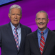 Ed Condon, who is from Hastings-on-Hudson, with Jeopardy! host Alex Trebek.