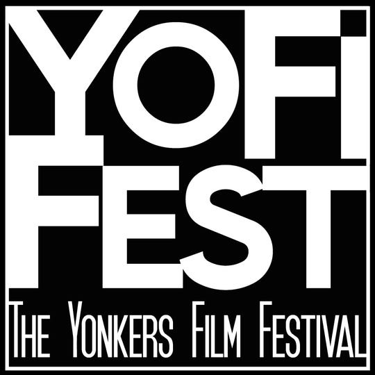 Logo for The Yonkers Film Festival, also known as YoFiFest.