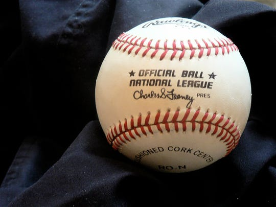 """Who could throw away the """"first pitch"""" ball thrown at Wrigley Field in Chicago when the ADA of Wisconsin was honored as a Cubs sponsor and I threw out that pitch? I can't."""