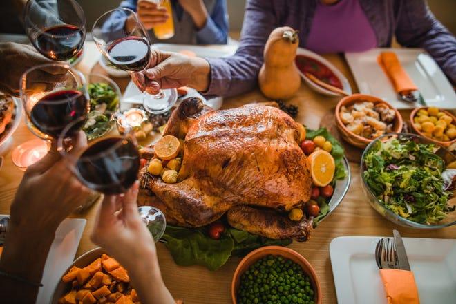 Settle in for a Thanksgiving dinner.