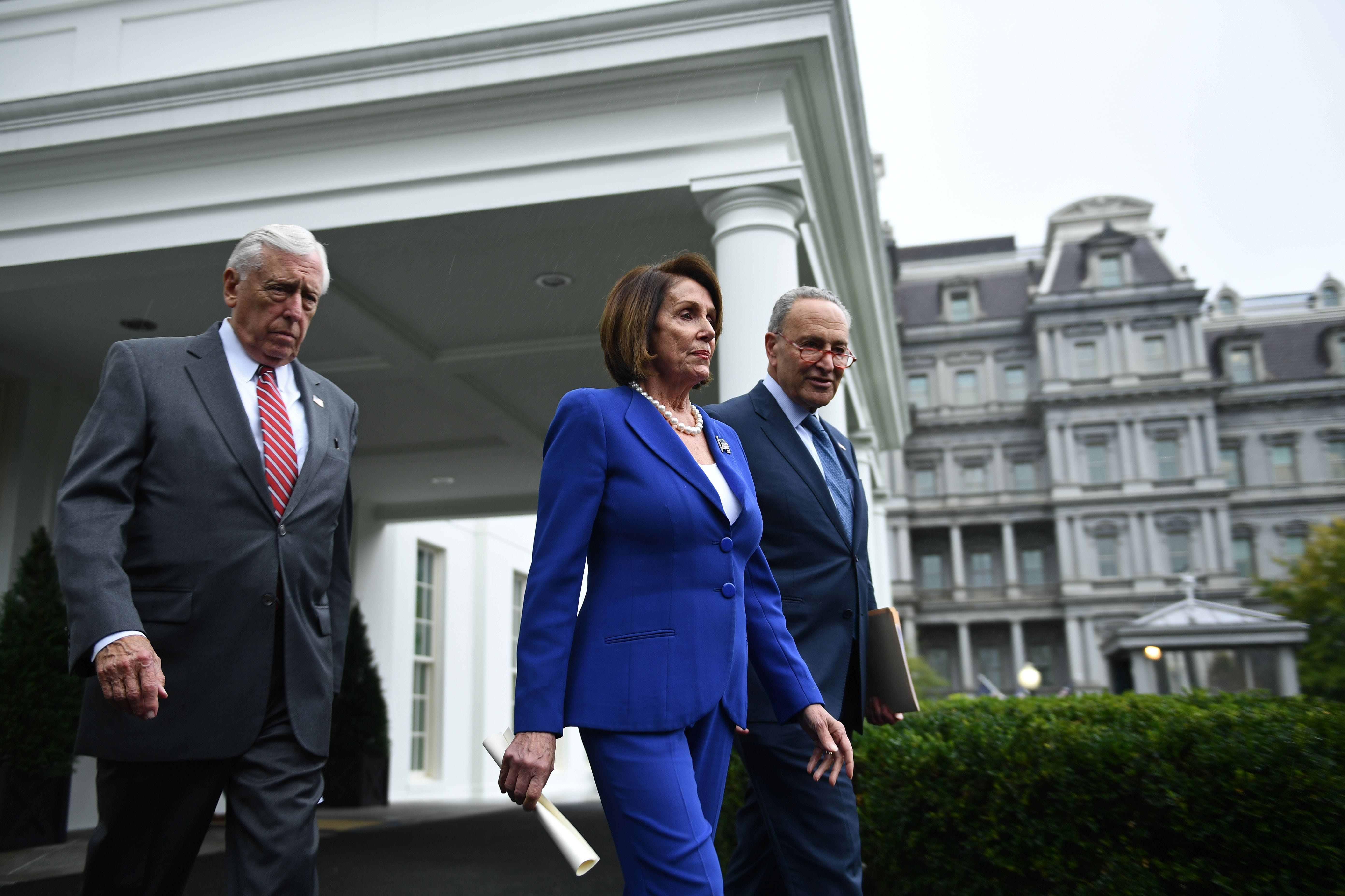 Democratic leaders walk out of meeting with Donald Trump on Syria, claim president had  meltdown