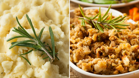 The side dishes are just as important as the turkey.
