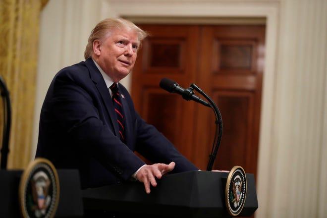 President Donald Trump on Oct. 16, 2019.