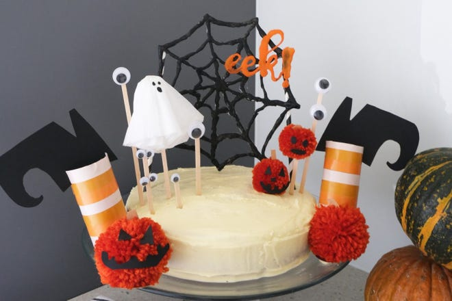 Halloween Recipes 5 Festive Cake Topper Ideas