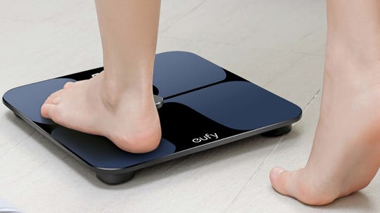 This smart scale from eufy can help track your weight loss and improve your overall health.