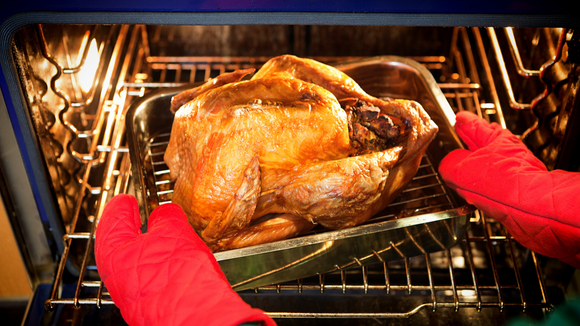 A good roasting pan is a Thanksgiving essential.