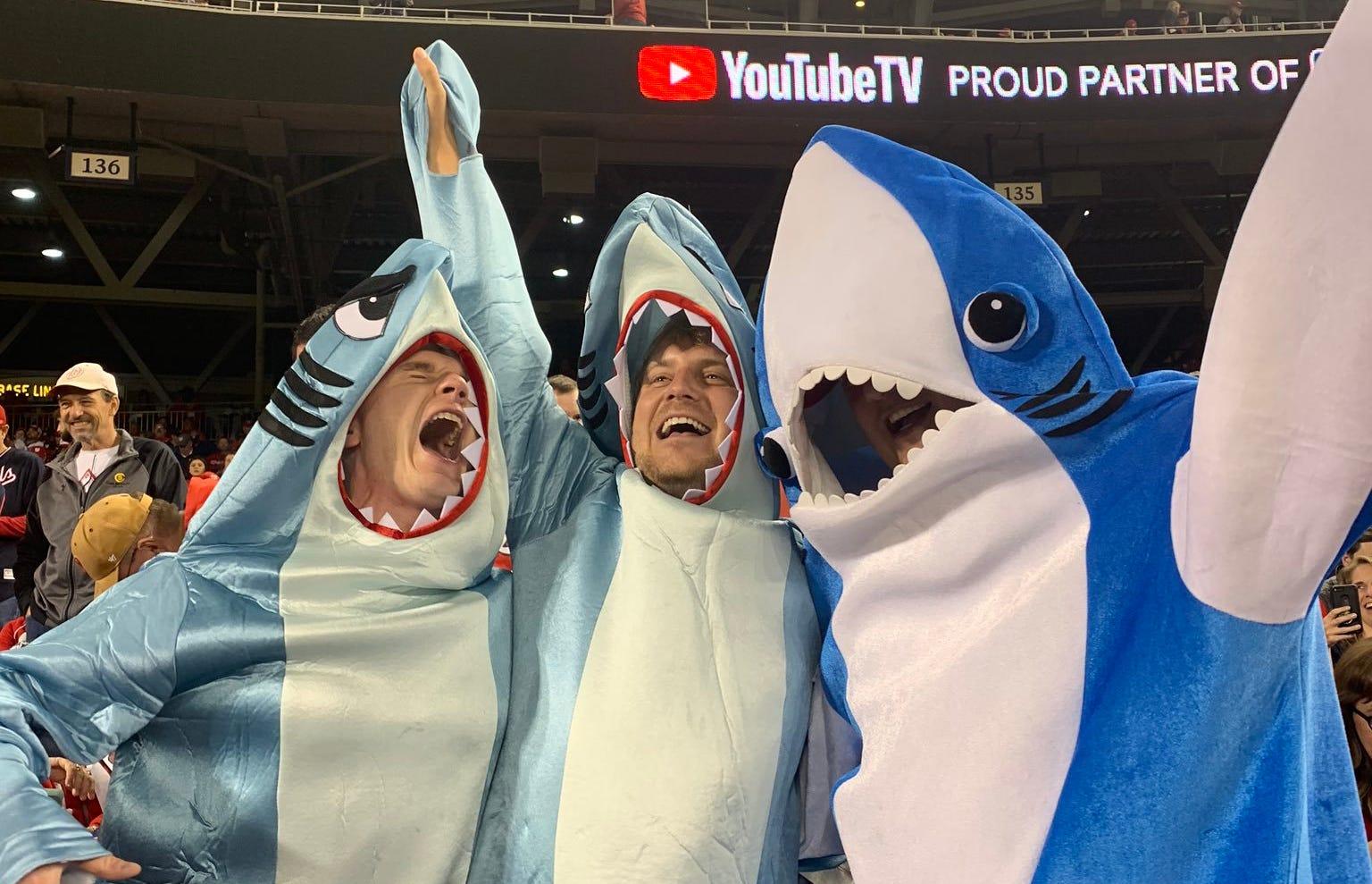 washington nationals and baby shark