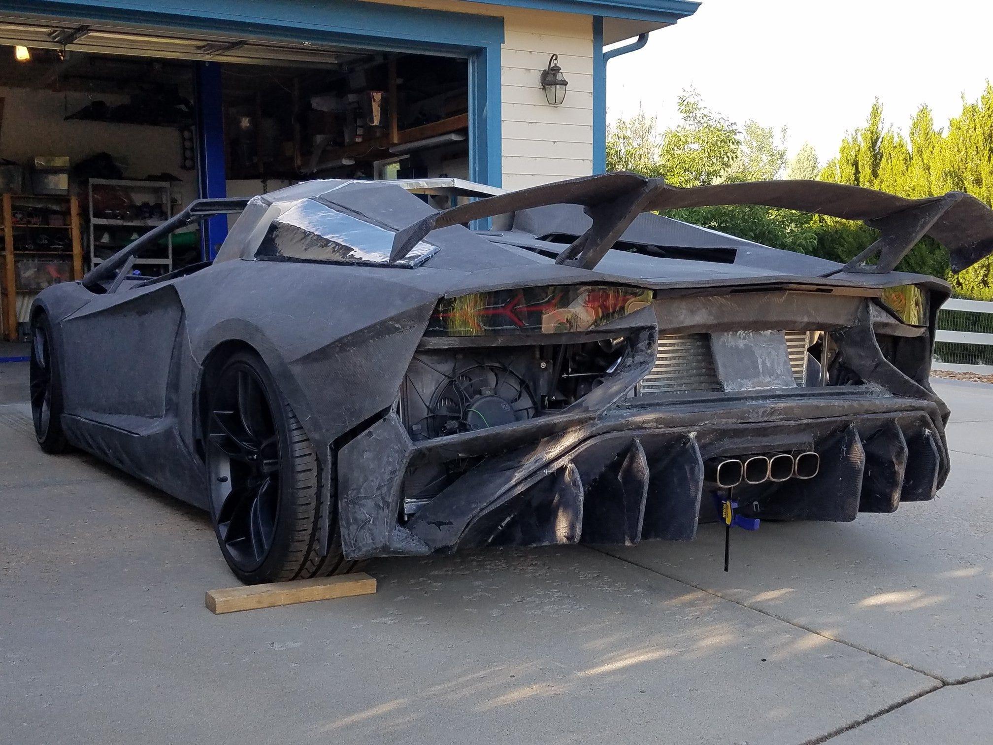 Lamborghini, Bugatti knock,offs populate the internet. Are
