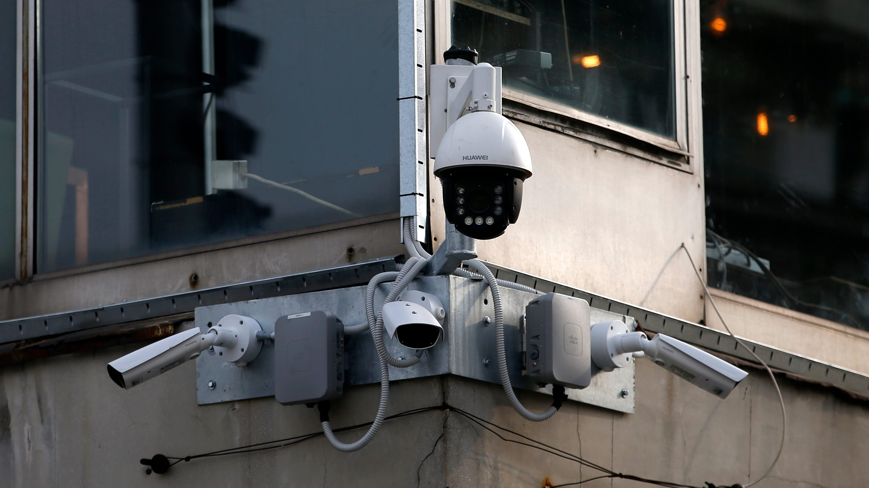 Chinese people-tracking cameras are spreading to nations vulnerable to human rights abuse