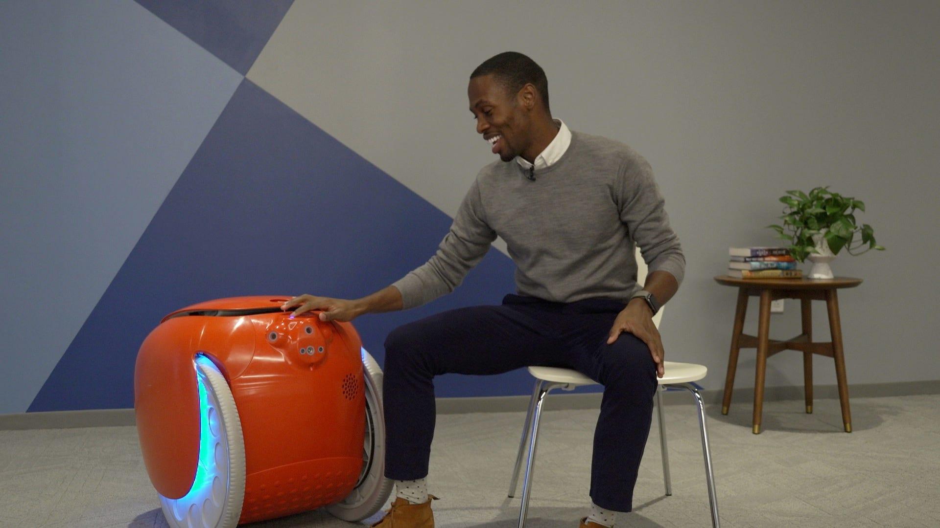 Meet gita: A cargo carrying robo-companion