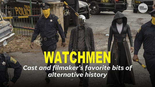 How HBO's 'Watchmen' embraces the political bent, bonkers spirit of seminal '80s comic